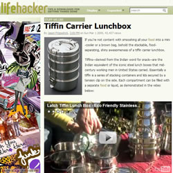 Happy Tiffin in Lifehacker