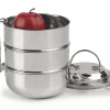 Happy Tiffin, Raja Domed 3-Tier Tiffin Lunch Box
