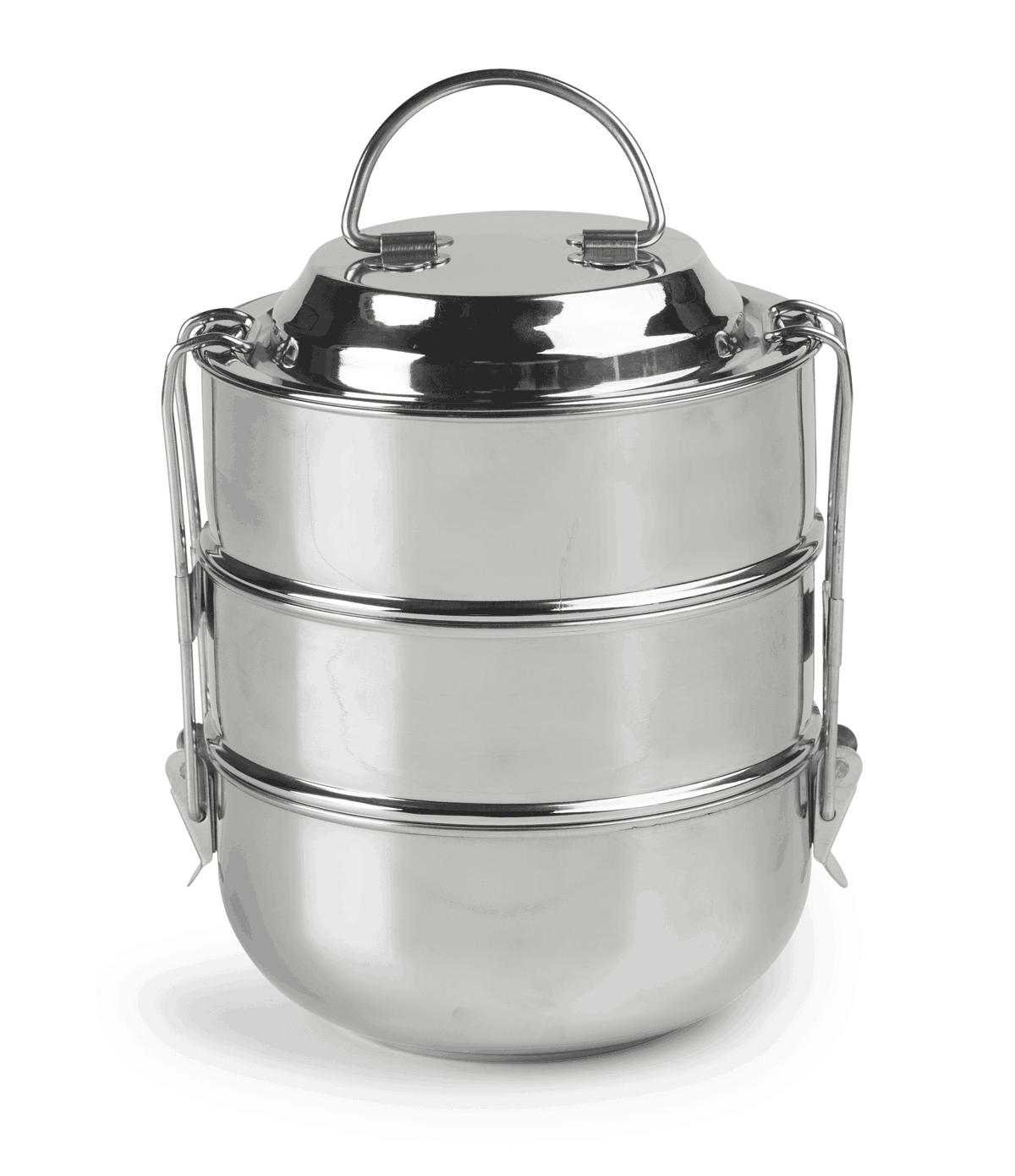 Raja Domed 3 Tier Tiffin Lunch Box